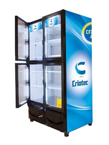 Refrigerador comercial CRIOTEC CFX_37 4P