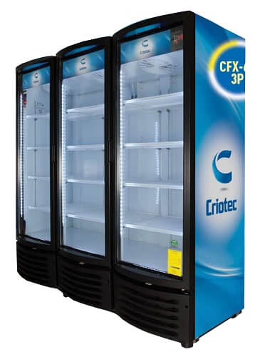 Refrigerador comercial CRIOTEC CFX_64 3P